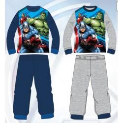 Ensemble Pyjama Long Avengers du 3 au 8 ans GARCON VETEMENT SOUS LICENCE OFFICIELLE MARVEL NEUF