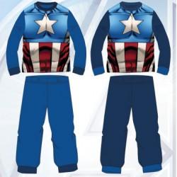 Ensemble Pyjama polaire Avengers du 3 au 8 ans ENFANT GARCON VETEMENT LICENCE OFFICIELLE MARVEL NEUF