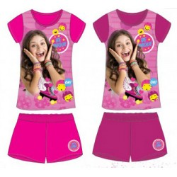 Ensemble Pyjama court Soy Luna ENFANT FILLE VETEMENT NEUF