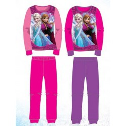 Ensemble Pyjama 2 pièces La Reine Des Neiges du 3 au 8 ans FILLE VETEMENT LICENCE OFFICIELLE DISNEY NEUF