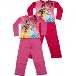Ensemble pyjama Long Princesse Disney FILLE du 3 au 8 ans VETEMENT SOUS LICENCE OFFICIELLE DISNEY NEUF