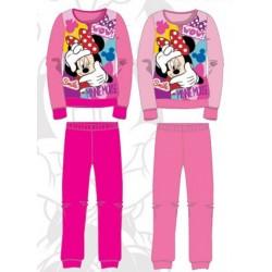 Ensemble Pyjama polaire long Minnie fille du 3 au 8 ans ENFANT FILLE VETEMENT LICENCE OFFICIELLE DISNEY NEUF