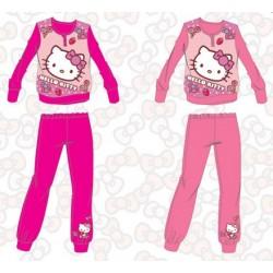 Ensemble pyjama polaire Hello Kitty fille du 3 au 10 ans ENFANT FILLE VETEMENT SOUS LICENCE OFFICIELLE NEUF