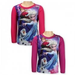 T-shirt manches longues la reine des neiges du 2 au 6 ans licence officielle disney FILLE VETEMENT NEUF