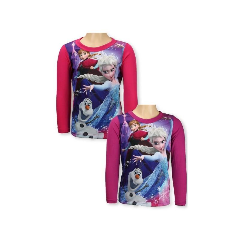 T-shirt la reine des neiges manches loungues disney FILLE VETEMENT NEUF.  Loading zoom b72314c1632c