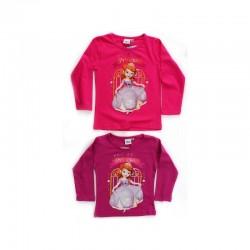 T-shirt manches longues Princesse Sofia du 2 au 6 ans licence officielle Disney FILLE VETEMENT NEUF