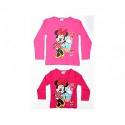 T-shirt Manches Longues Minnie du 2 au 6 ans licence officielle Disney FILLE VETEMENT NEUF
