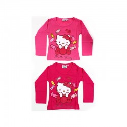 T-shirt manches longues Hello Kitty V2 du 2 au 6 ans sous licence officielle FILLE VETEMENT NEUF