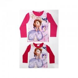 T-shirt manches longues Princesse Sofia V2 du 2 au 6 ans licence officielle Disney FILLE VETEMENT NEUF