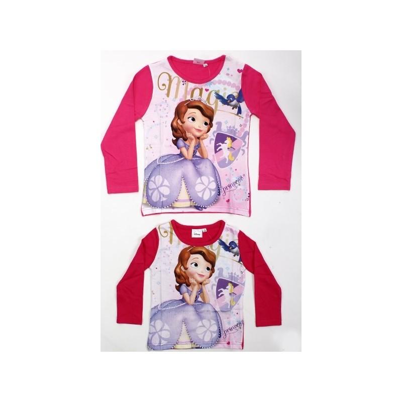 T-shirt manches longues Princesse Sofia V2 du 2 au 6 ans licence officielle  Disney FILLE VETEMENT NEUF - Amzalan.com 1b1712a20f95