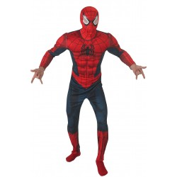 Déguisement Spiderman Marvel adulte carnaval anniversaire mariage NEUF