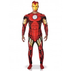 Déguisement luxe Iron Man Avengers adulte carnaval anniversaire NEUF