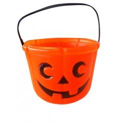 Seau a bonbons citrouille Déguisement Halloween v3 fete carnaval neuf