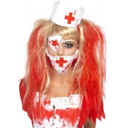 Kit infirmière ensanglantée femme Déguisement Halloween fete carnaval neuf
