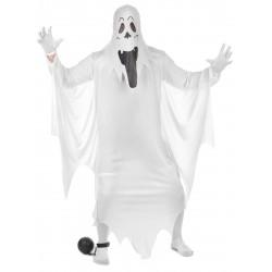Déguisement fantôme adulte Halloween fete carnaval neuf