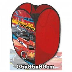 Panier de rangement pop up Cars Flash Mc Queen Disney garcon jeux jouet neuf