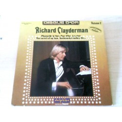 Disque Vinyle 33 tours Disque D'or Volume 2 - Richard Clayderman collection musique occasion