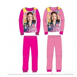 Ensemble Pyjama polaire long Soy Luna - 4 à 12 ans ENFANT FILLE VETEMENT NEUF