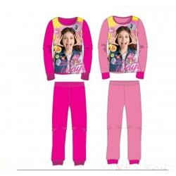 Ensemble Pyjama polaire long Soy Luna du 4 au 12 ans ENFANT FILLE VETEMENT SOUS LICENCE OFFICIELLE NEUF