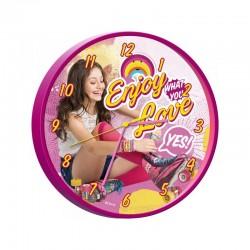 Horloge pendule Soy Luna 25 cm Disney idée cadeau anniversaire noel neuf