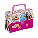 BOITE A GOÛTER LUNCH BOX VALISETTE Soy Luna Disney enfant idée cadeau anniversaire neuf