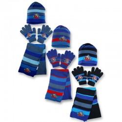 Set ensemble 3 pièces Bonnet + écharpe + gants Avengers Marvel enfant hiver garcon neuf