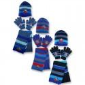 Set 3 pièces Bonnet + écharpe + gants Avengers Marvel enfant garcon neuf