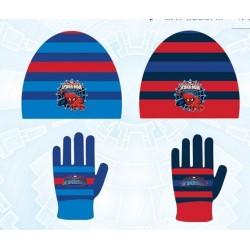 Set ensemble 2 pièces Spiderman bonnet et gants Spiderman enfant garcon neuf