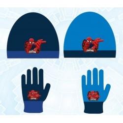 Set 2 pièces bonnet et gants Spiderman Marvel Disney enfant garcon neuf