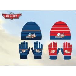 Set ensemble 2 pièces Bonnet + gants Planes Disney enfant garcon vêtements hiver neuf