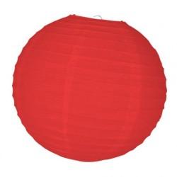 Grande Boule chinoise lampion rouge 50 cm déco salle mariage anniversaire baptême retraite neuve