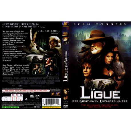 DVD zone 2 La Ligue Des Gentlemen Extraordinaires - Edition Simple