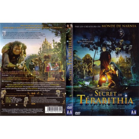 DVD Le Secret De Terabithia Gabor Csupo - coffret collector