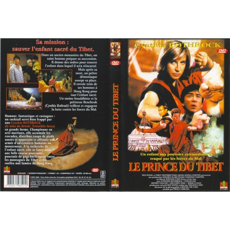 DVD zone 2 Le Prince Du Tibet Chin Welson