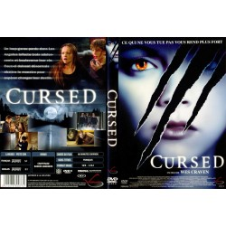 DVD zone 2 CURSED Horreur RICCI CHRISTINA