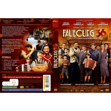 DVD zone 2 Faubourg 36 Christophe Barratier