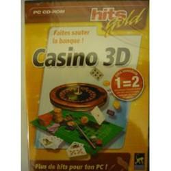 Jeux vidéo Casino 3D sur PC réflexion,simulation Occasion comme neuve