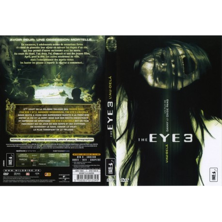 DVD zone 2 The Eye 3 Pang Oxide