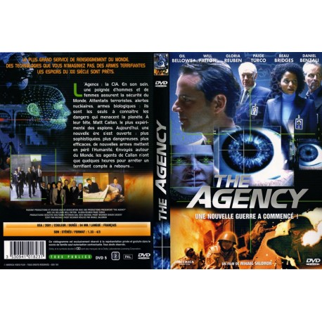 DVD zone 2 the agency
