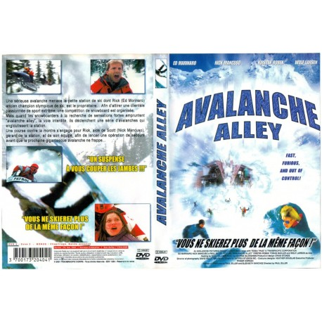 DVD zone 2 AVALANCHE ALLEY Action collection occasion
