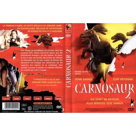 DVD zone 2 CARNOSAUR 2