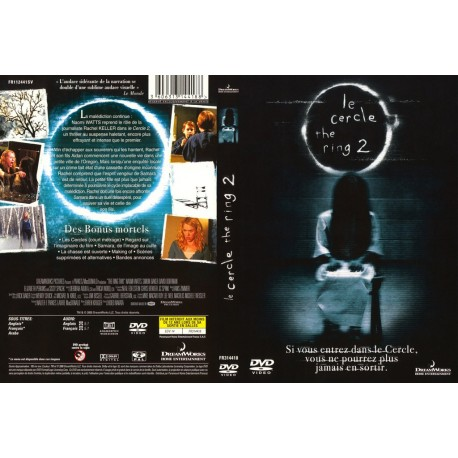 DVD LE CERCLE 2 THE RING