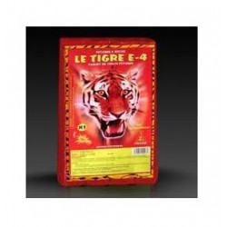 Feux d'artifices nouvel an noël anniversaire lot 10 pétards tigre E4 super démon