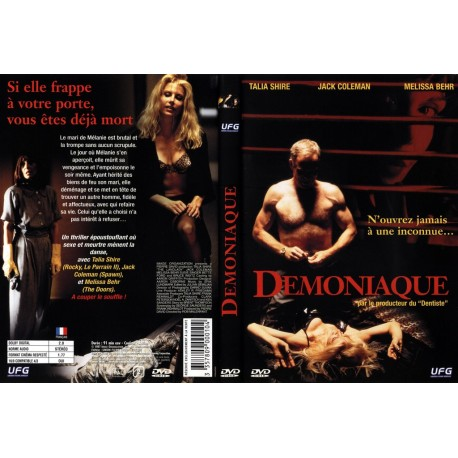 DVD Démoniaque avec Talia Shire (Rocky, Le Parrain II), Jack Coleman....
