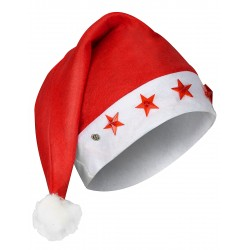 Bonnet lumineux étoiles Père Noël ACCESSOIRE DEGUISEMENT NOEL NEUF