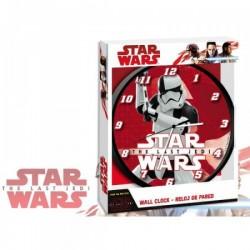 Pendule horloge murale ronde Star Wars 02 déco chambre idée cadeau neuf