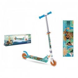 Trottinette Vaiana Disney fille 2 roues pliable enfant Plein air idée cadeau noel neuf
