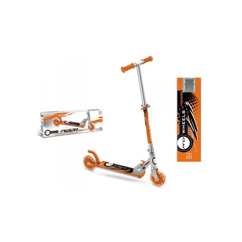 trottinette 2 roues pliable m tal 2 roues pro weels id e. Black Bedroom Furniture Sets. Home Design Ideas
