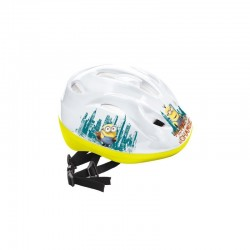 Casque de protection Minions licence officielle velo trottinette roller jeux plein air neuf
