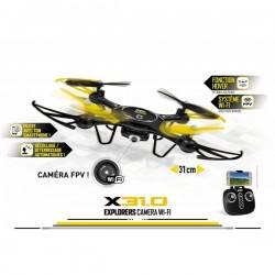 Drone ULTRADRONE X31.0 EXPLORERS CAMERA WI-FI MONDO idée cadeau anniversaire NOËL neuf